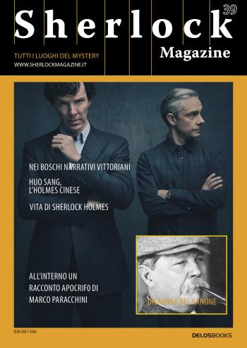 Sherlock Magazine 39 (copertina)