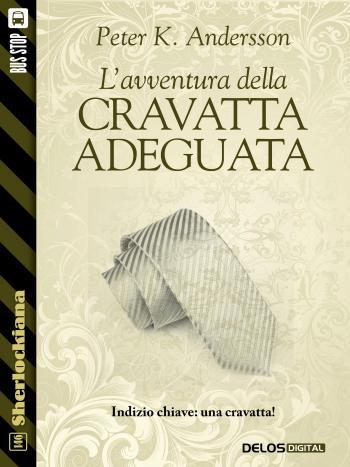 L'avventura della cravatta adeguata (copertina)