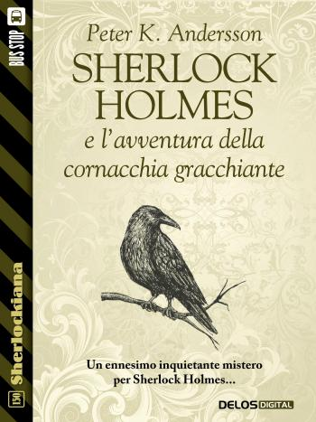 Sherlock Holmes e l'avventura della cornacchia gracchiante (copertina)
