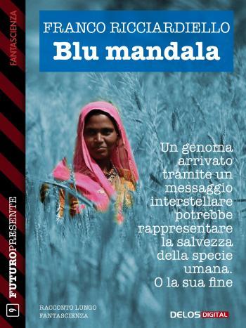 Blu mandala