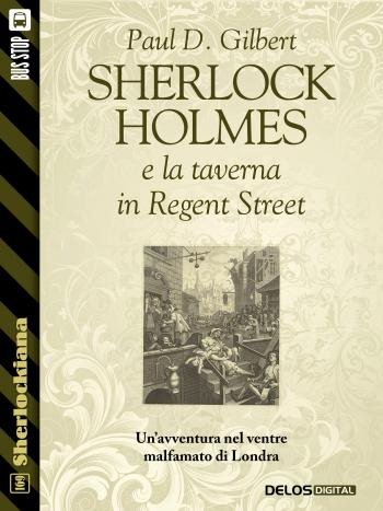 Sherlock Holmes e la taverna in Regent Street (copertina)