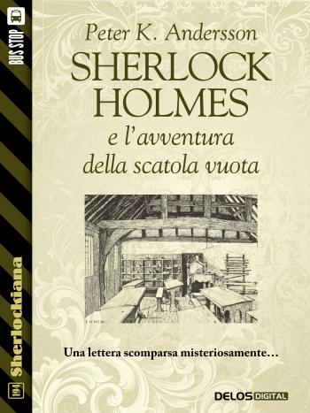Sherlock Holmes e l'avventura della scatola vuota (copertina)