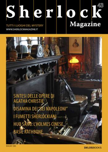 Sherlock Magazine 43 (copertina)