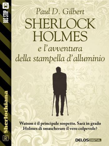 Sherlock Holmes e l'avventura della stampella d'alluminio (copertina)