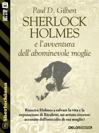 Sherlock Holmes e l'avventura dell'abominevole moglie (copertina)