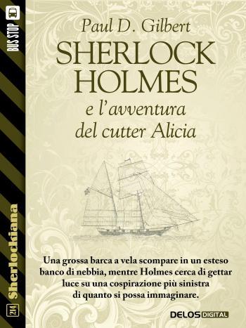Sherlock Holmes e l'avventura del cutter Alicia (copertina)