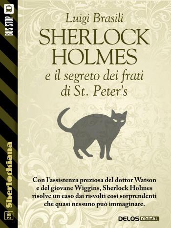 Sherlock Holmes e  il segreto dei frati di St. Peter's (copertina)