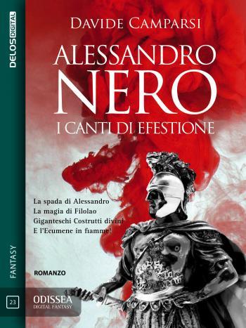 Alessandro Nero - I canti di Efestione (copertina)