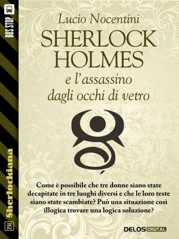 Sherlock Holmes e l'assassino dagli occhi di vetro (copertina)