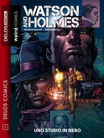 Watson & Holmes Uno studio in nero (copertina)