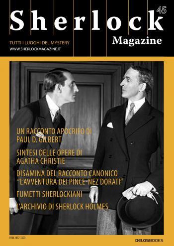 Sherlock Magazine 45 (copertina)