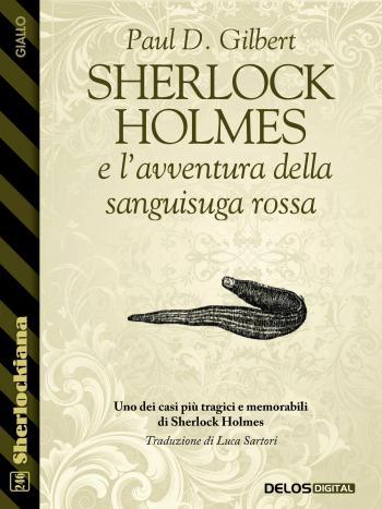 Sherlock Holmes e l'avventura della sanguisuga rossa (copertina)