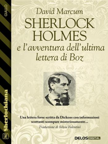 Sherlock Holmes e l'avventura dell'ultima lettera di Boz (copertina)