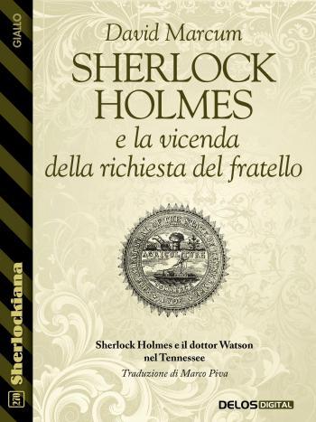 Sherlock Holmes e la vicenda della richiesta del fratello (copertina)