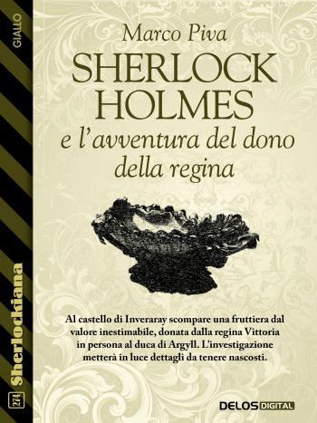 Sherlock Holmes e l'avventura del dono della regina (copertina)