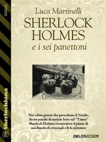 Sherlock Holmes e i sei panettoni (copertina)