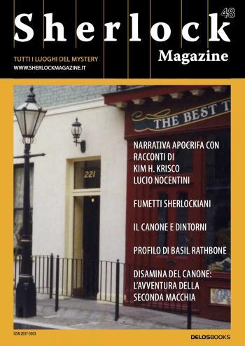 Sherlock Magazine 48 (copertina)