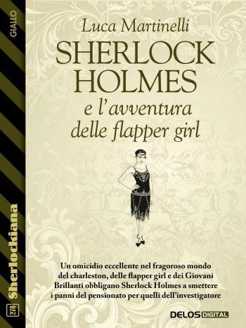 Sherlock Holmes e l'avventura delle flapper girl (copertina)