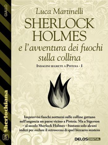 Sherlock Holmes e l'avventura dei fuochi sulla collina (copertina)