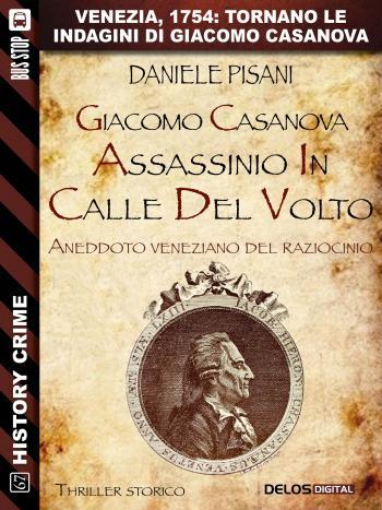 Giacomo Casanova - Assassinio in Calle del Volto (copertina)