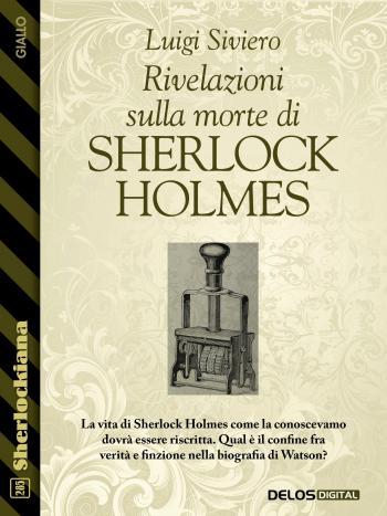 Rivelazioni sulla morte di Sherlock  Holmes (copertina)