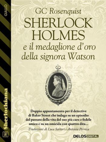 Sherlock Holmes e il medaglione d'oro della signora Watson (copertina)