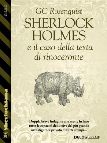 Sherlock Holmes  e il caso della testa  di rinoceronte (copertina)