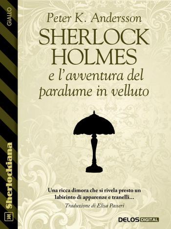 Sherlock Holmes e l'avventura del paralume in velluto (copertina)