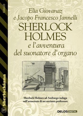 Sherlock Holmes e l'avventura del suonatore d'organo (copertina)
