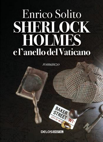 Sherlock Holmes e l'anello del Vaticano (copertina)