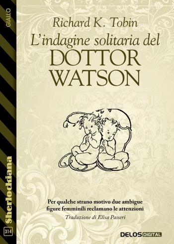 L'indagine solitaria del Dottor Watson (copertina)