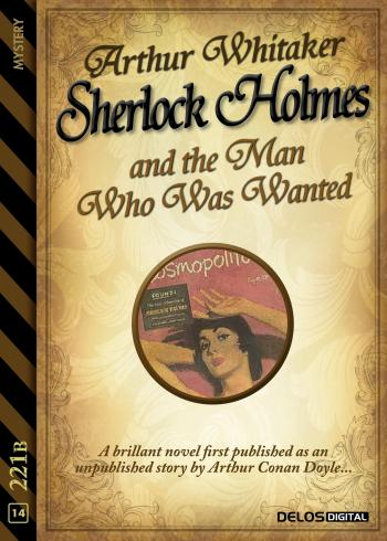 Sherlock Holmes and the Man Who Was Wanted (copertina)