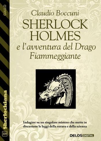 Sherlock Holmes e l'avventura del Drago Fiammeggiante (copertina)