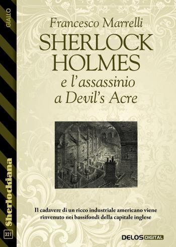 Sherlock Holmes e l'assassinio a Devil's Acre (copertina)
