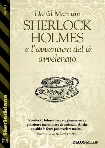 Sherlock Holmes e l'avventura del tè avvelenato (copertina)