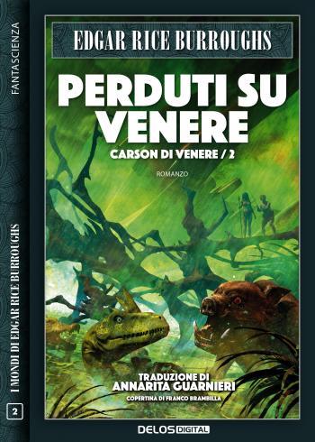 Perduti su Venere (copertina)