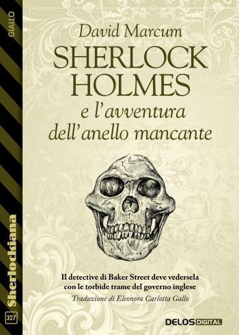 Sherlock Holmes e l'avventura dell'anello mancante (copertina)