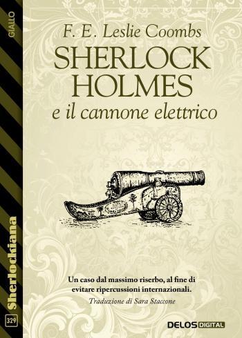 Sherlock Holmes e il cannone elettrico (copertina)