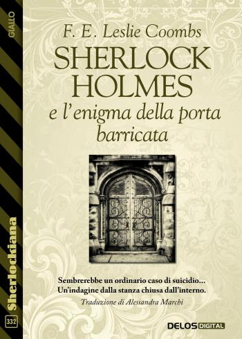 Sherlock Holmes e l'enigma della porta barricata (copertina)