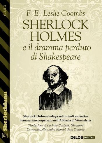 Sherlock Holmes e il dramma perduto di Shakespeare (copertina)