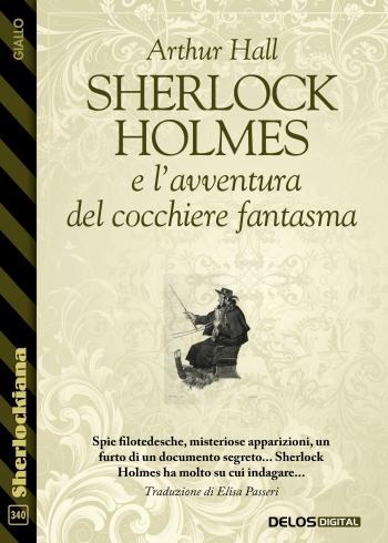 Sherlock Holmes e l'avventura del cocchiere fantasma (copertina)