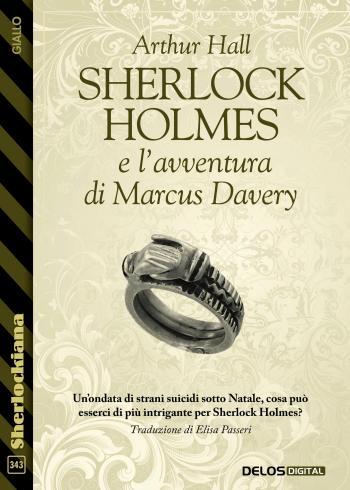 Sherlock Holmes e l'avventura di Marcus Davery (copertina)
