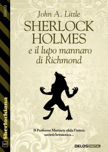 Sherlock Holmes e il lupo mannaro di Richmond (copertina)
