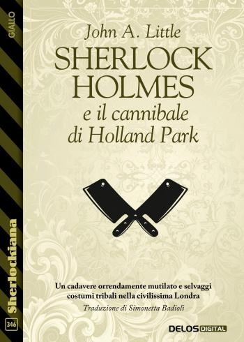 Sherlock Holmes e il cannibale di Holland Park  (copertina)