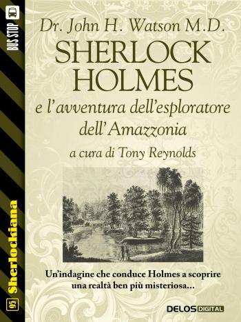 Sherlock Holmes e l'avventura dell'esploratore dell'Amazzonia (copertina)