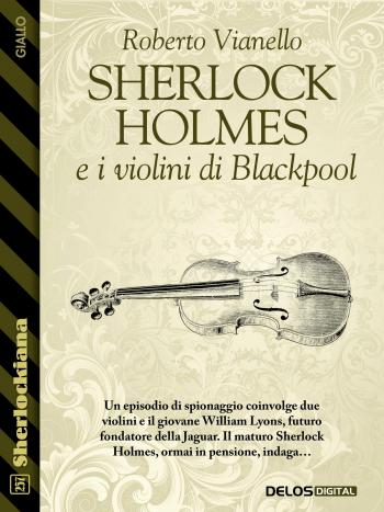 Sherlock Holmes e i violini di Blackpool (copertina)