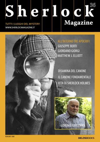 Sherlock Magazine 36 (copertina)