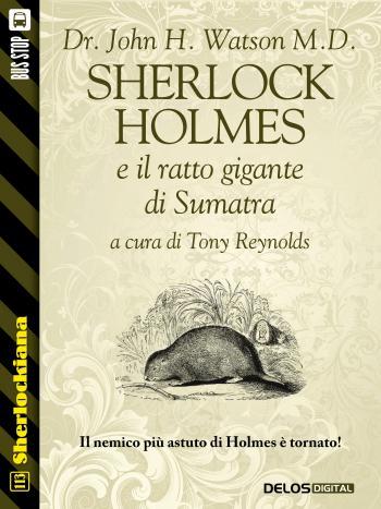 Sherlock Holmes e il ratto gigante di Sumatra (copertina)