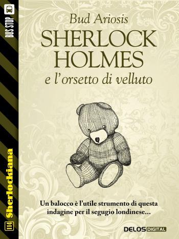 Sherlock Holmes e l'orsetto di velluto (copertina)