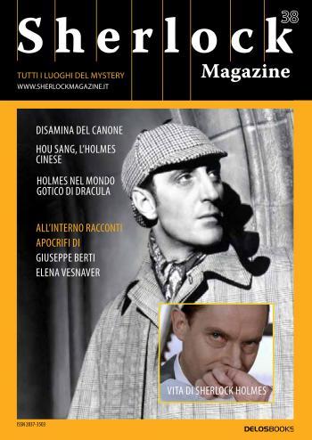 Sherlock Magazine 38 (copertina)